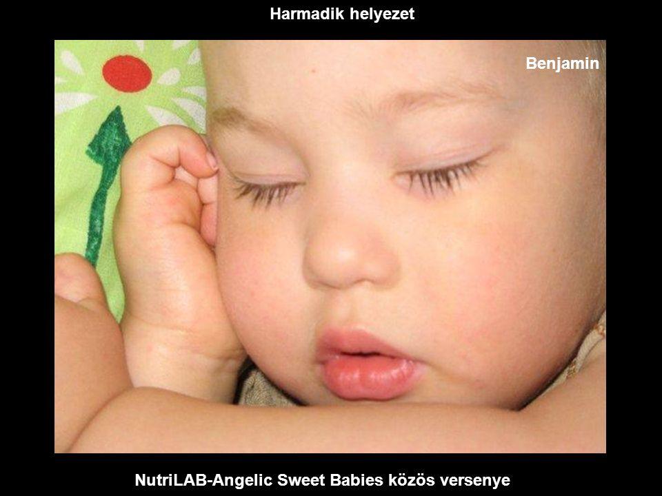 NutriLAB-Angelic Sweet Babies közös versenye Második helyezet Dalma Lola