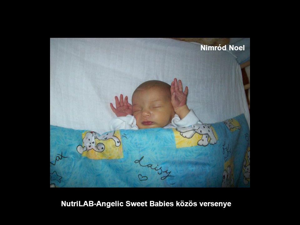 NutriLAB-Angelic Sweet Babies közös versenye Harmadik helyezet Benjamin