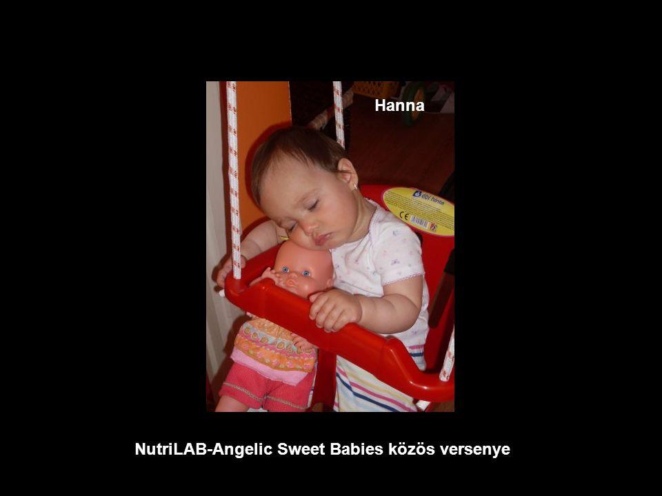 NutriLAB-Angelic Sweet Babies közös versenye Melinda