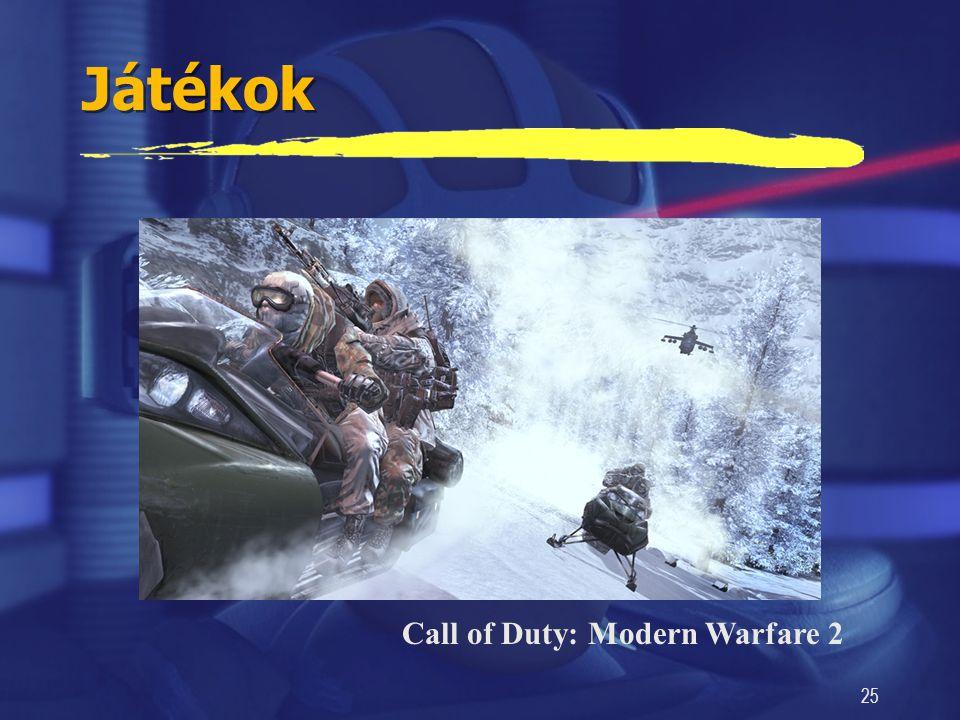 25 Játékok Call of Duty: Modern Warfare 2