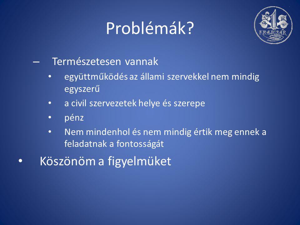 Problémák.