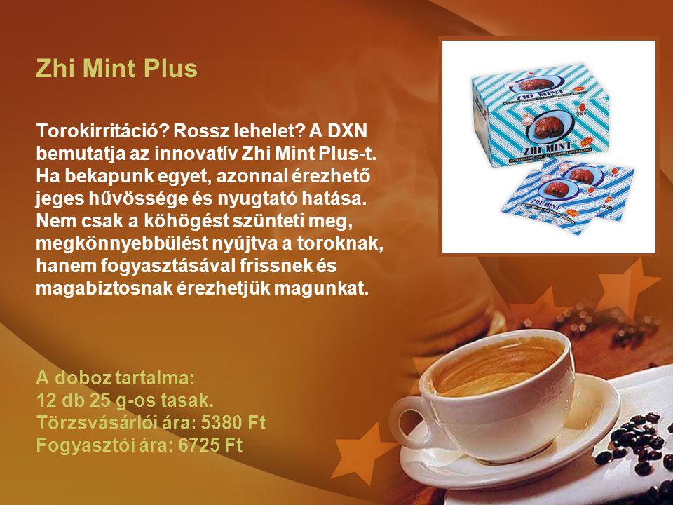 Zhi Mint Plus Torokirritáció? Rossz lehelet? A DXN bemutatja az innovatív Zhi Mint Plus-t. Ha bekapunk egyet, azonnal érezhető jeges hűvössége és nyug