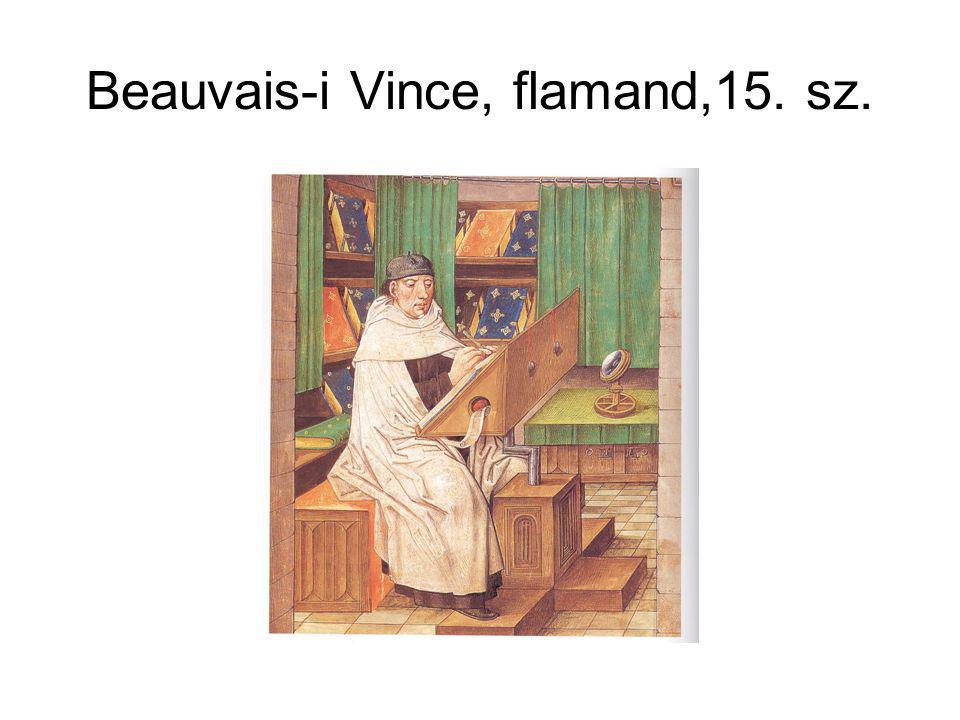 Beauvais-i Vince, flamand,15. sz.