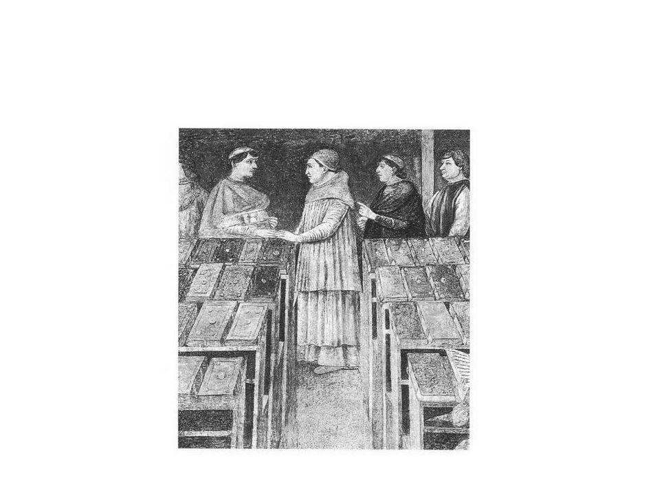 Az első közkönyvtár (Firenze, Medici-könyvtár: Bibliotheca laurentina)