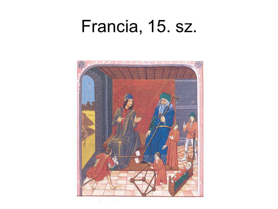 Francia, 15. sz.