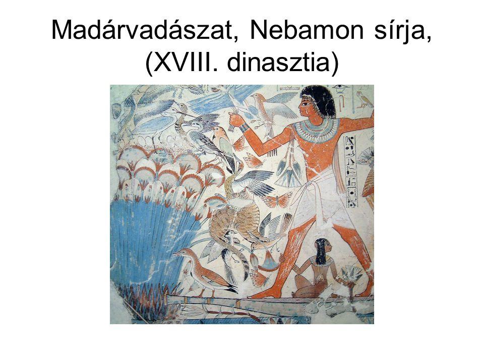 Madárvadászat, Nebamon sírja, (XVIII. dinasztia)
