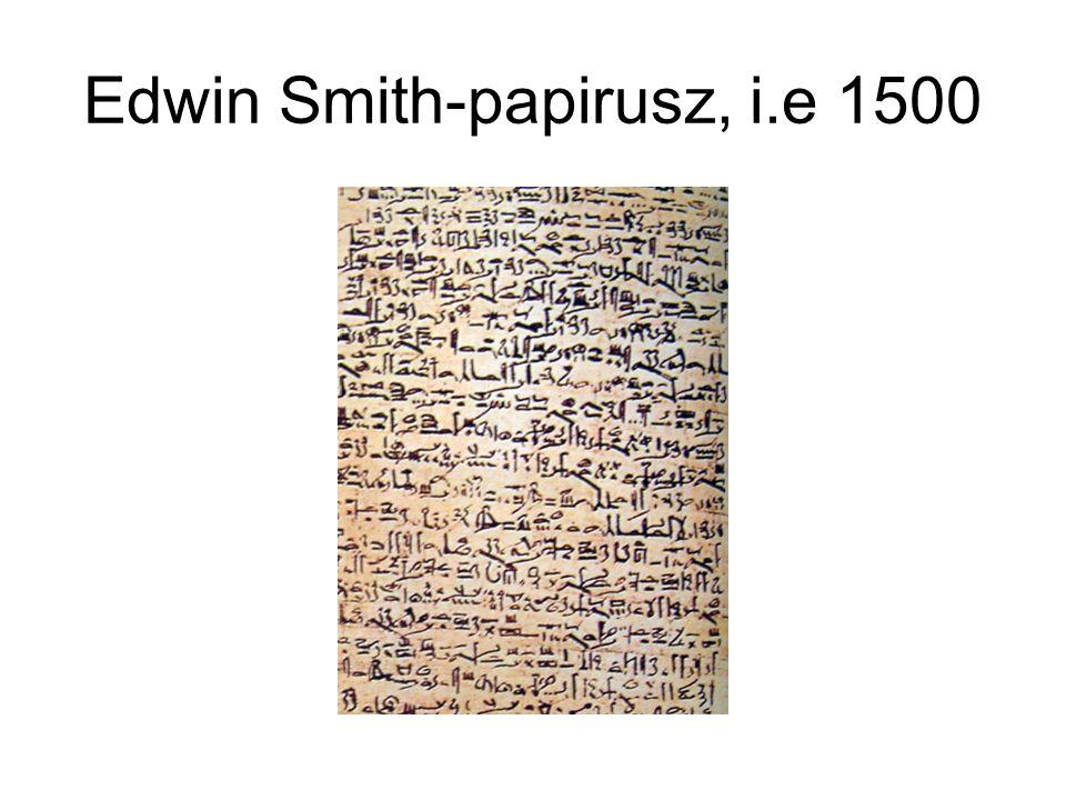Edwin Smith-papirusz, i.e 1500