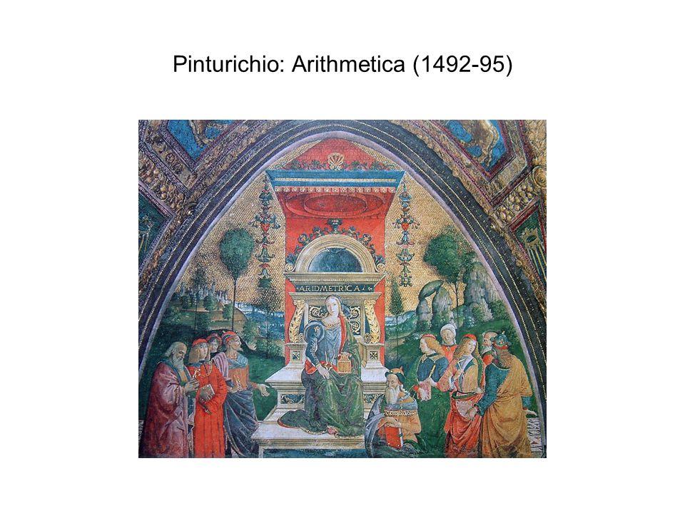 Pinturichio: Arithmetica (1492-95)