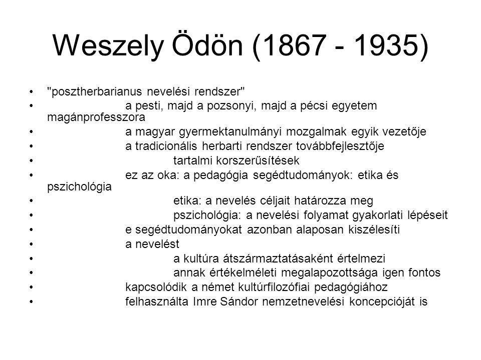 Weszely Ödön (1867 - 1935)