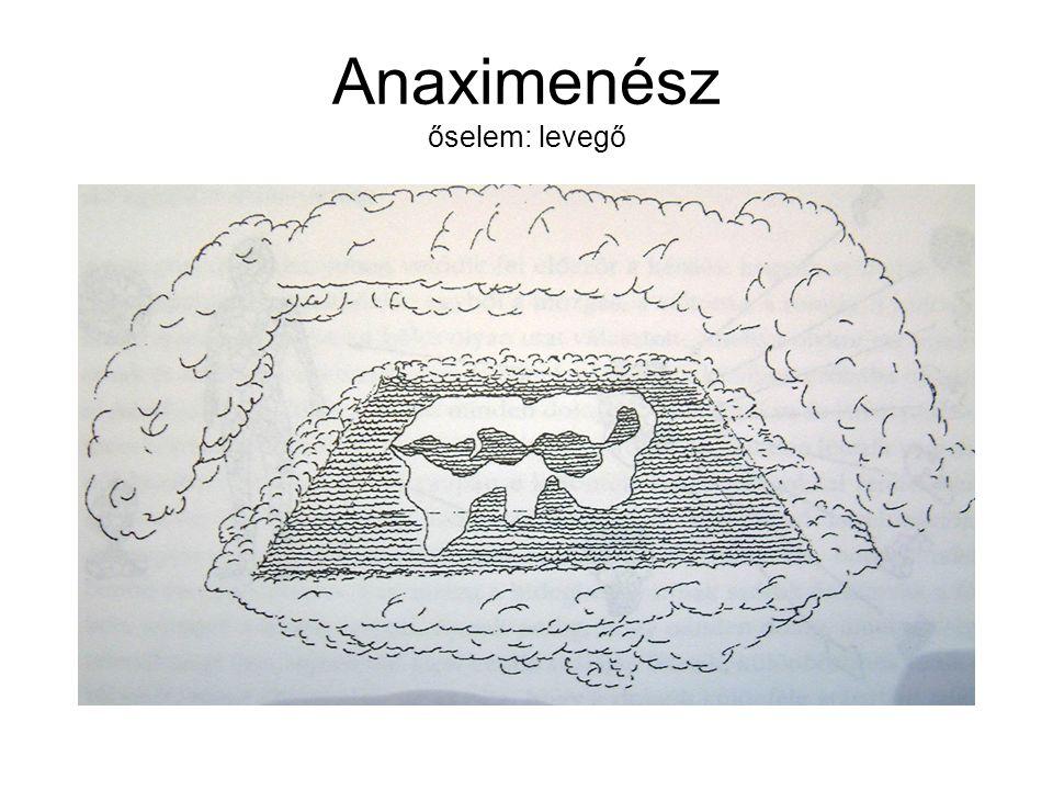 Anaximenész őselem: levegő