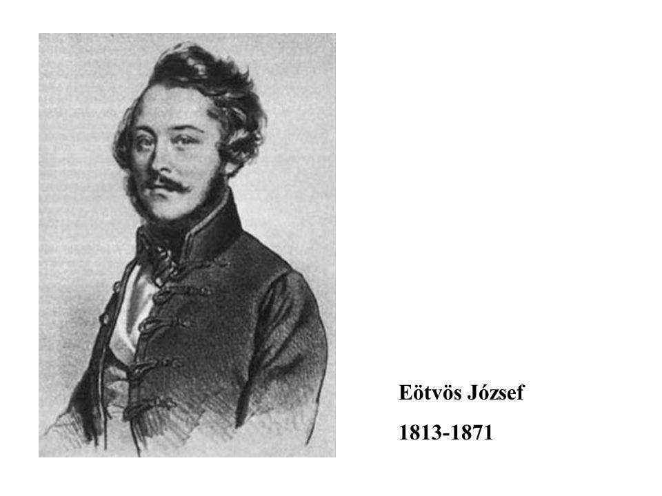 Eötvös József 1813-1871