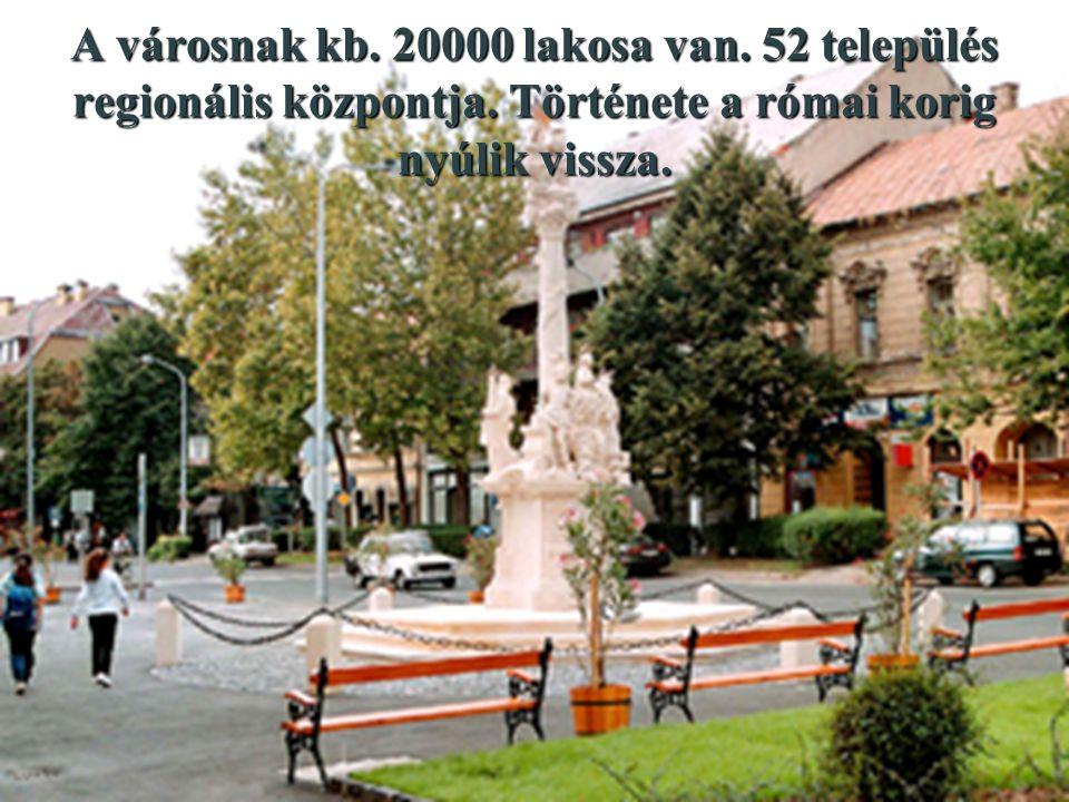 A városnak kb. 20000 lakosa van. 52 település regionális központja.