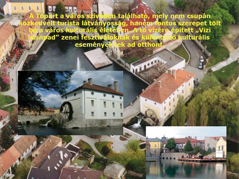 A Tópart a város szívében található, mely nem csupán közkedvelt turista látványosság, hanem fontos szerepet tölt be a város kulturális életében.