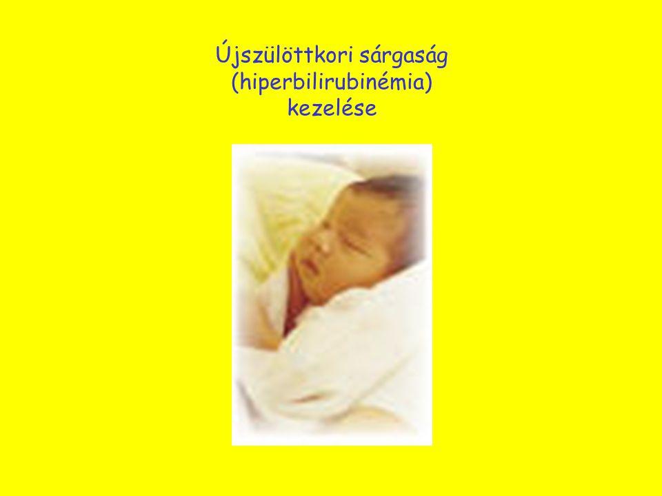 Újszülöttkori sárgaság (hiperbilirubinémia) kezelése