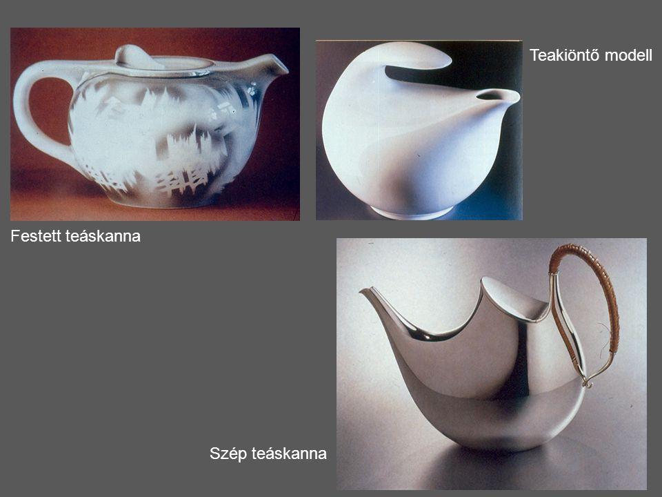 Festett teáskanna Szép teáskanna Teakiöntő modell