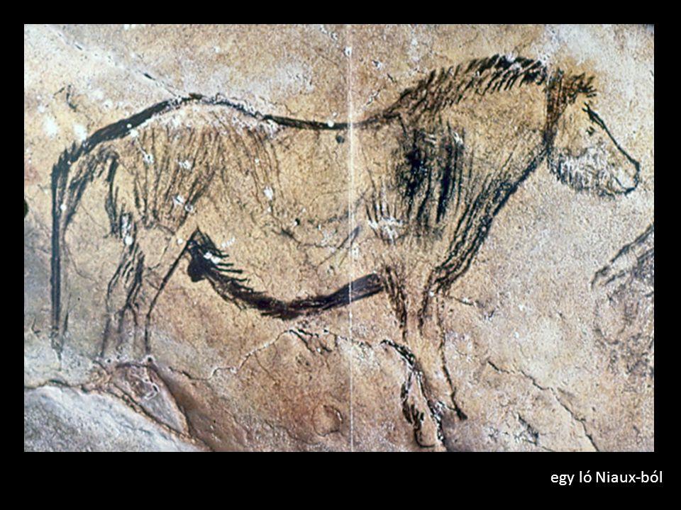 egy ló Niaux-ból