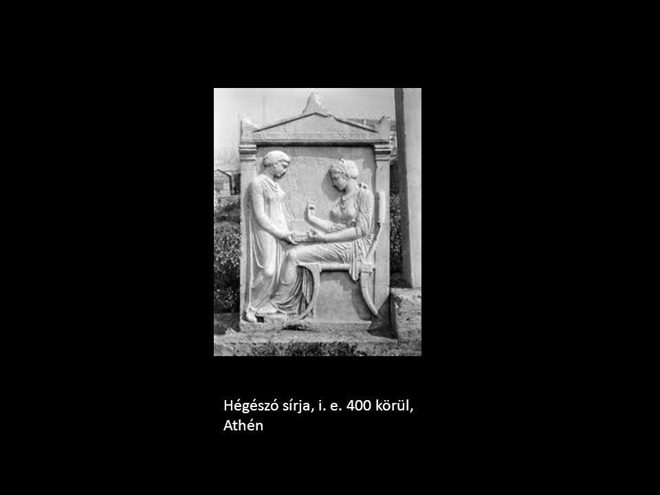 Hégészó sírja, i. e. 400 körül, Athén