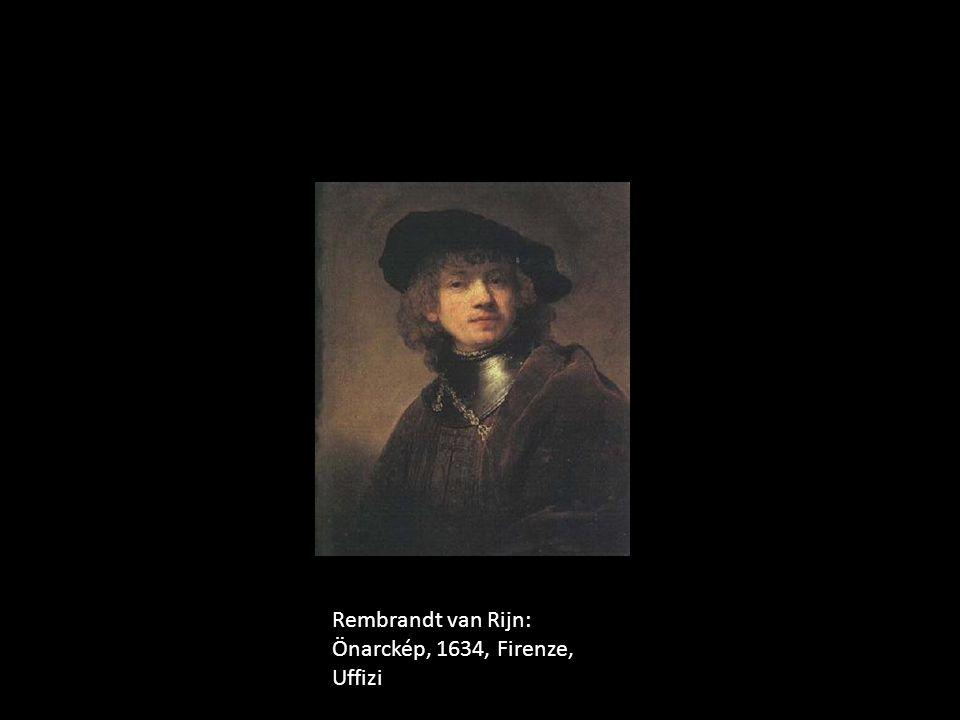 Rembrandt van Rijn: Önarckép, 1634, Firenze, Uffizi