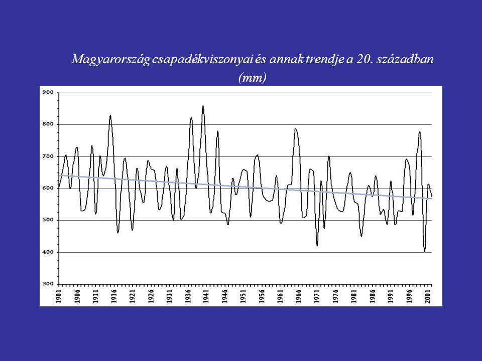 A klímával kapcsolatos változásokat csak hosszabb időszak folyamatai alapján lehet megítélni.