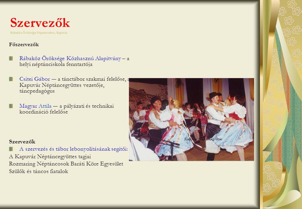 Reklámeszközök a tánctábor népszerűsítésére I.