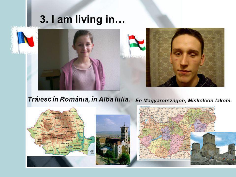 4. The capital of... is... Capitala României este Bucureşti. Magyarország fővárosa Budapest.