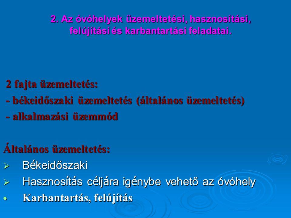 Két fontos jogszabály az életvédelmi építményekről  37/1995.