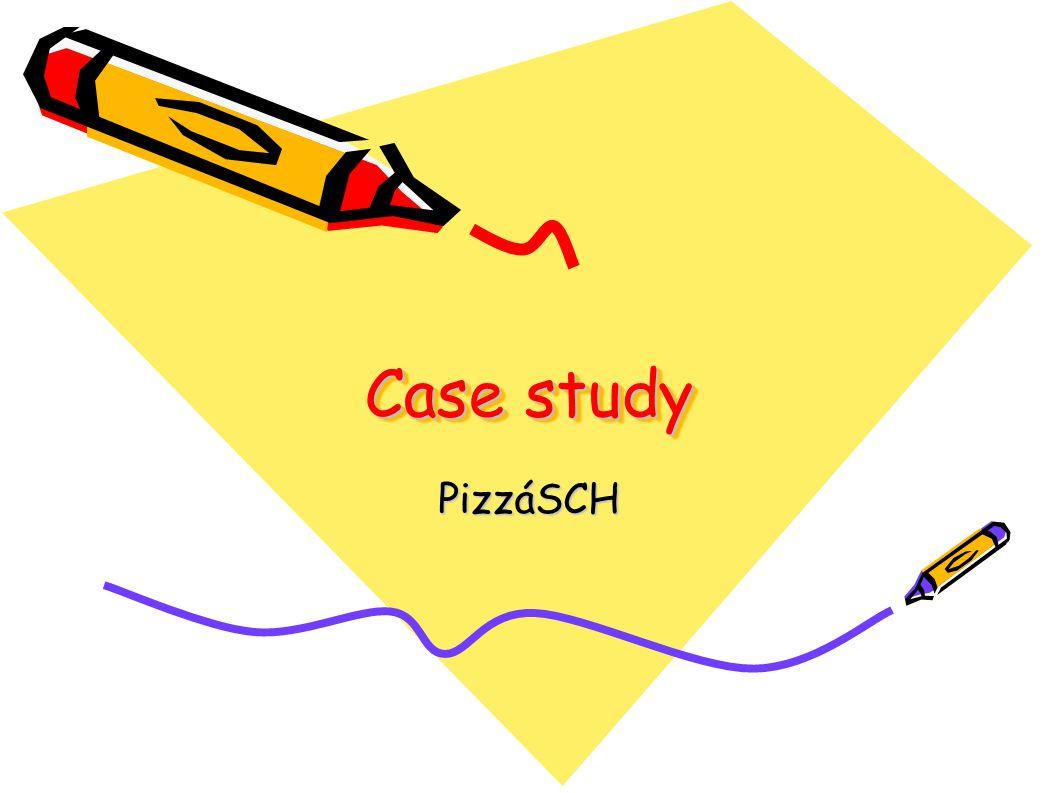 Case study PizzáSCH