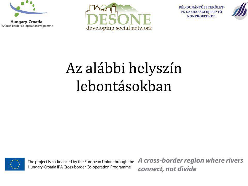 Elérhetőségeink: Dél-Dunántúli Terület- és Gazdaságfejlesztő Nonprofit Kft.