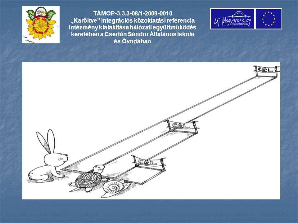 """TÁMOP-3.3.3-08/1-2009-0010 """"Karöltve Integrációs közoktatási referencia Intézmény kialakítása hálózati együttműködés keretében a Csertán Sándor Általános Iskola és Óvodában"""