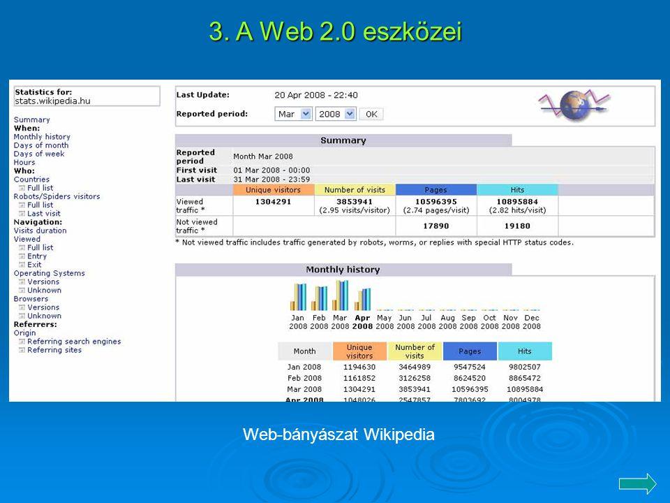 Web-bányászat Wikipedia