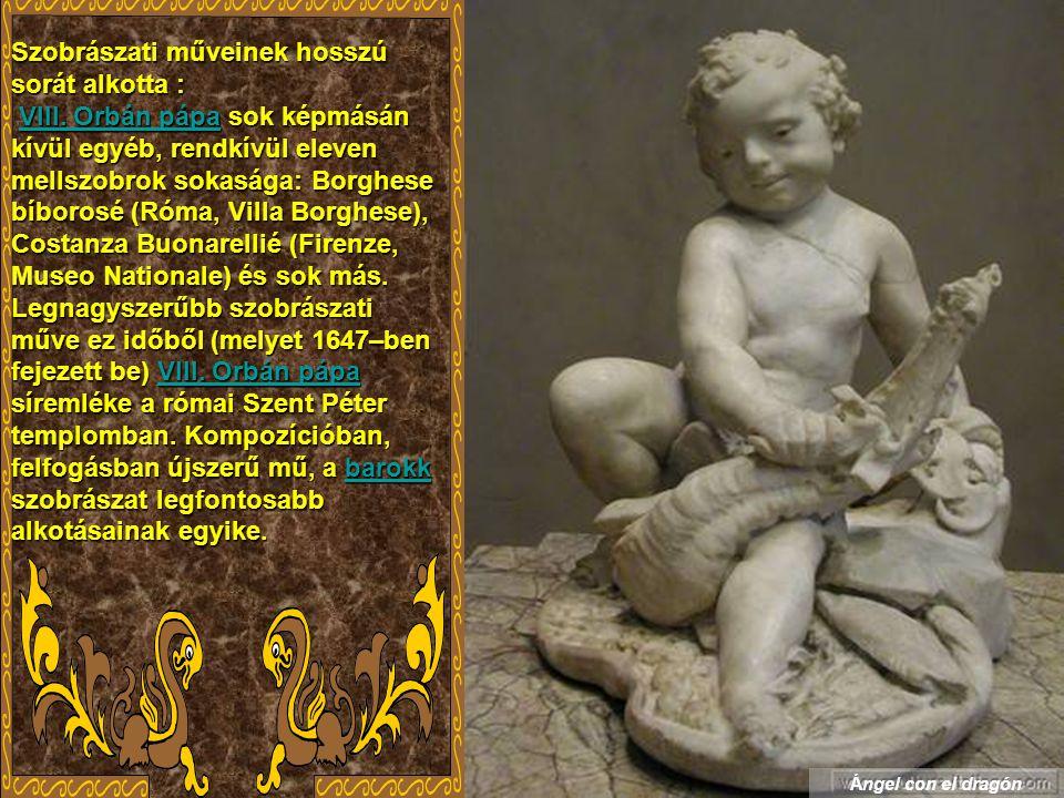 Giovanni Lorenzo Bernini (Gian Lorenzo Bernini), (1598 – 1680) 1598168015981680 olasz építész és szobrász.
