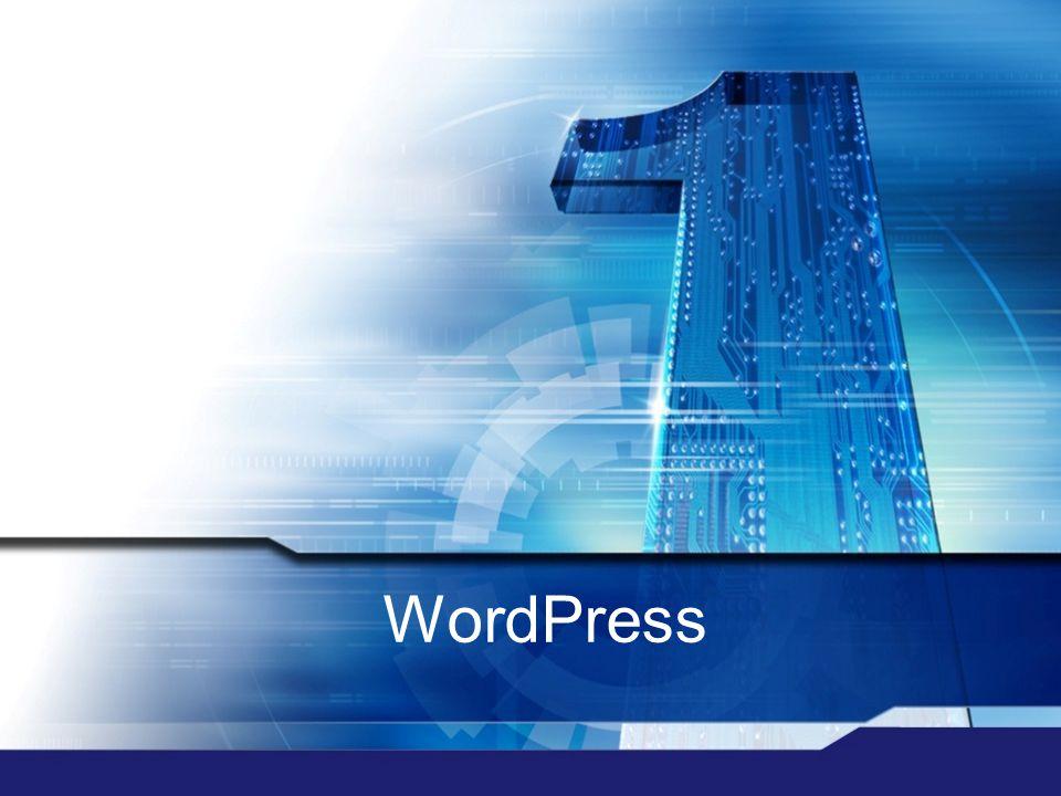  Internetes blogok kialakulása: fogyasztóból  szerző  Ezt segítik elő a blogrendszerek és a tartalomkezelő rendszerek (CMS – Content Management System)  WordPress: blogokhoz készített tartalomkezelő rendszer  A rengeteg letölthető tartalom és kiegészítés miatt komolyabb feladatok ellátására is alkalmas  A rendszer használata egyszerű, a rendszerhez való fejlesztés szaktudást igényel  Elérhető hozzá számos design és plugin