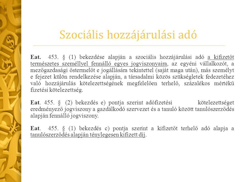 Biztosítási jogviszony Tbj.4. § k) 1. alpontja alapján az Szt.