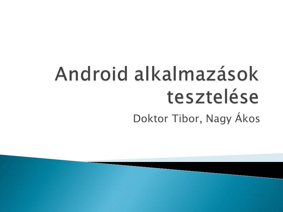 Doktor Tibor, Nagy Ákos