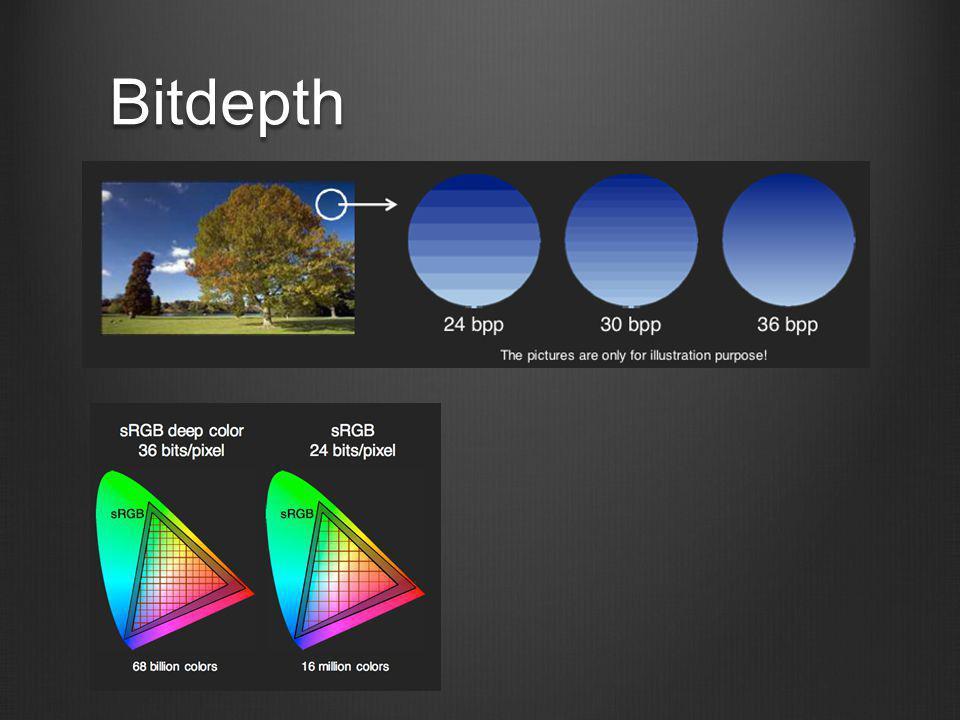 GIF  Veszteségmentes tömörítés  Max 256 szín.