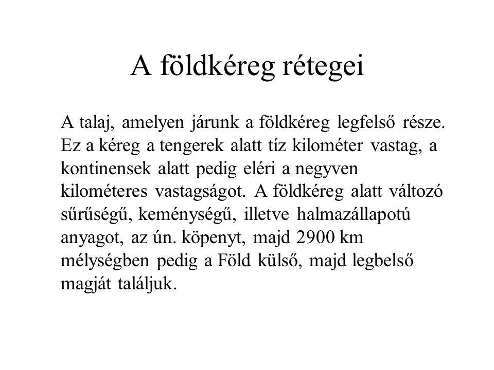 Mèrèsi skàlàk Richter-skàla: a földrengés erősségét egy logaritmikus skála szerint határozza meg.