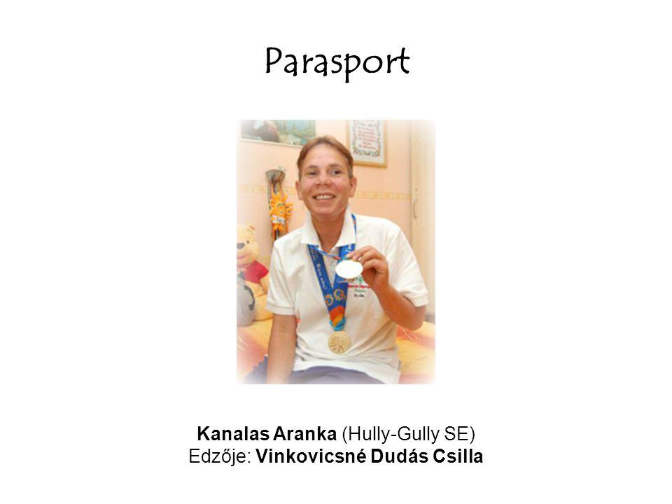 Parasport Kanalas Aranka (Hully-Gully SE) Edzője: Vinkovicsné Dudás Csilla