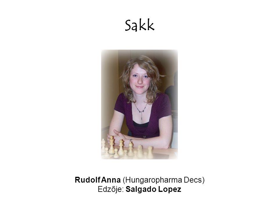 Sakk Rudolf Anna (Hungaropharma Decs) Edzője: Salgado Lopez