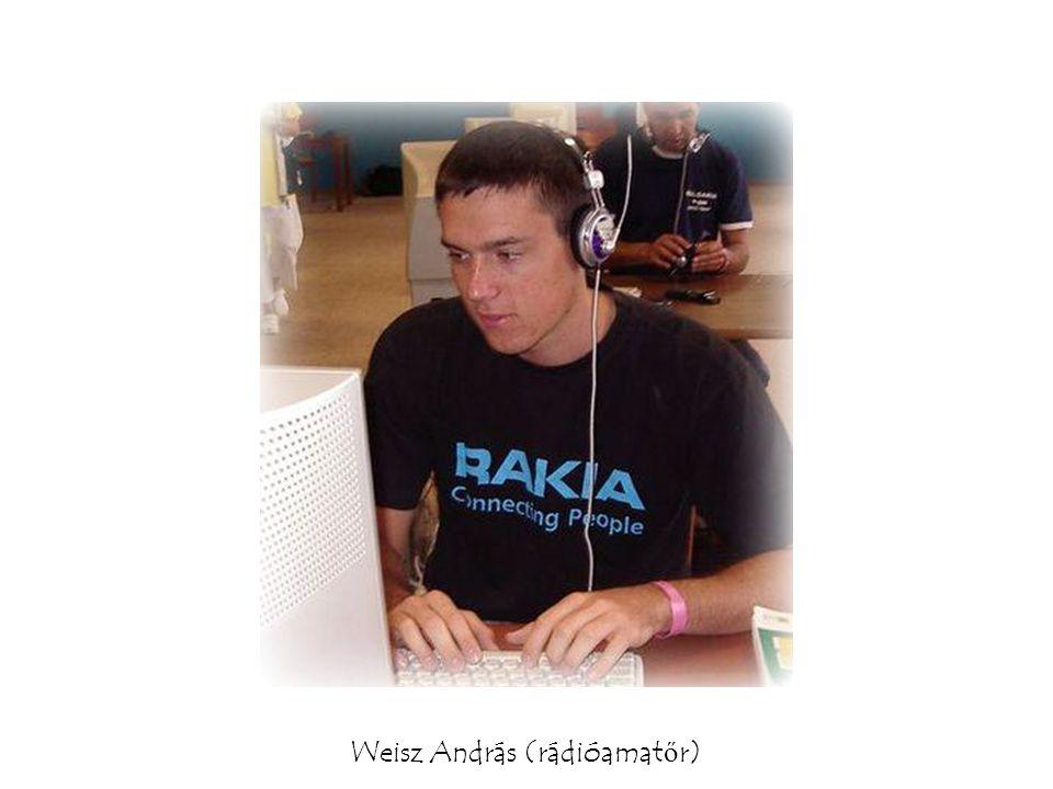 Weisz András (rádióamat ő r)