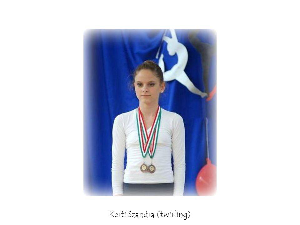 Kerti Szandra (twirling)