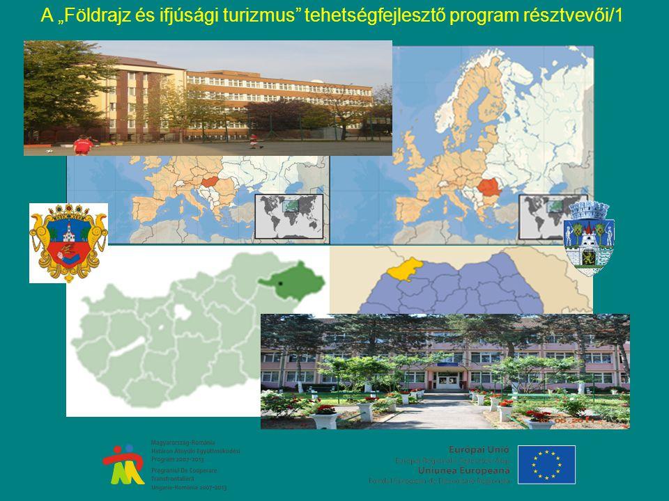 """A """"Földrajz és ifjúsági turizmus tehetségfejlesztő program résztvevői/1"""