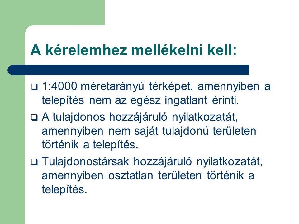 A telepítő kötelezettségei:  A telepítő a telepítésről,használatról és megszüntetésről munkanaplót köteles vezetni.