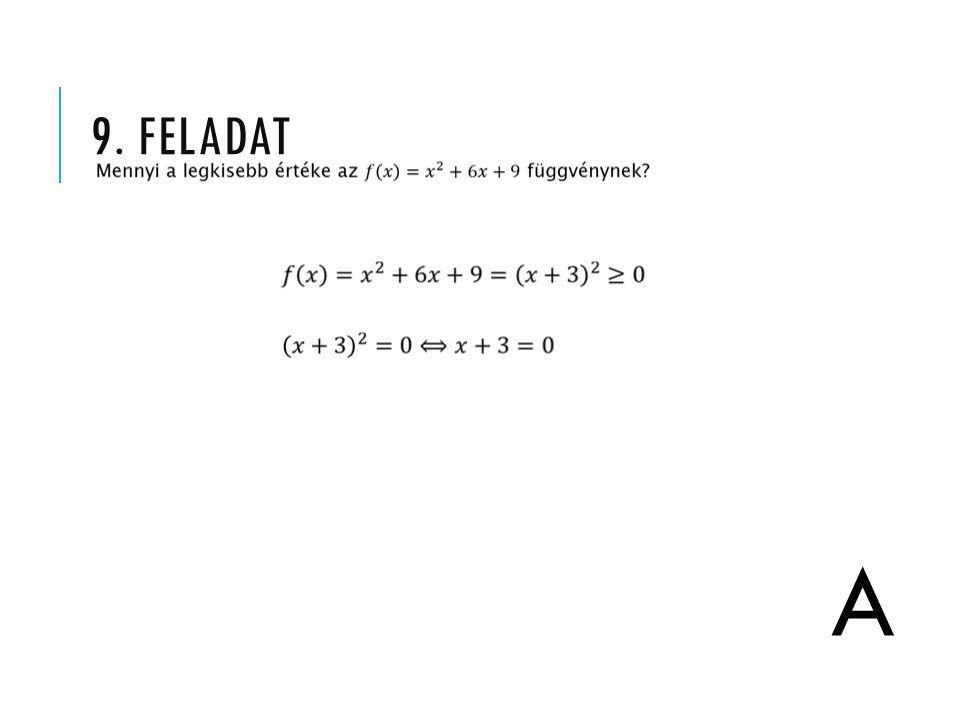 9. FELADAT A