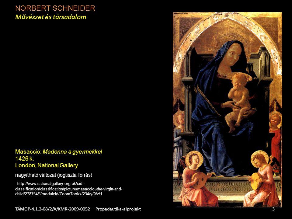 NORBERT SCHNEIDER Művészet és társadalom 4TÁMOP-4.1.2-08/2/A/KMR-2009-0052 – Propedeutika-alprojekt nagyítható változat (jogtiszta forrás) http://www.sandstead.com/images/metropolitan/VERMEER_Maid_Asleep _1656-57_L_d2h_.jpg Vermeer: Alvó nő 1655-60 k.