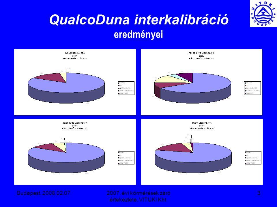 Budapest, 2008.02.07.2007.évi körmérések záró értekezlete, VITUKI Kht.