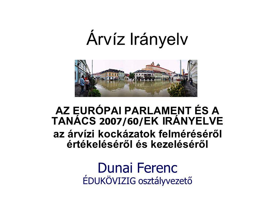 Köszönöm a figyelmet! dunai.ferenc@edukovizig.hu
