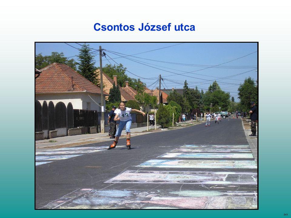 Csontos József utca ZsG