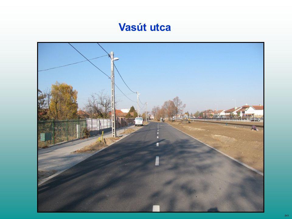 Vasút utca ZsG