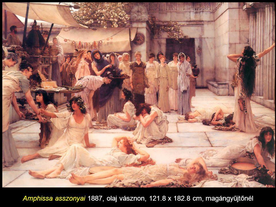 Caracalla fürdője 1881 olaj vásznon, 66 x 122 cm, magángyűjtemény