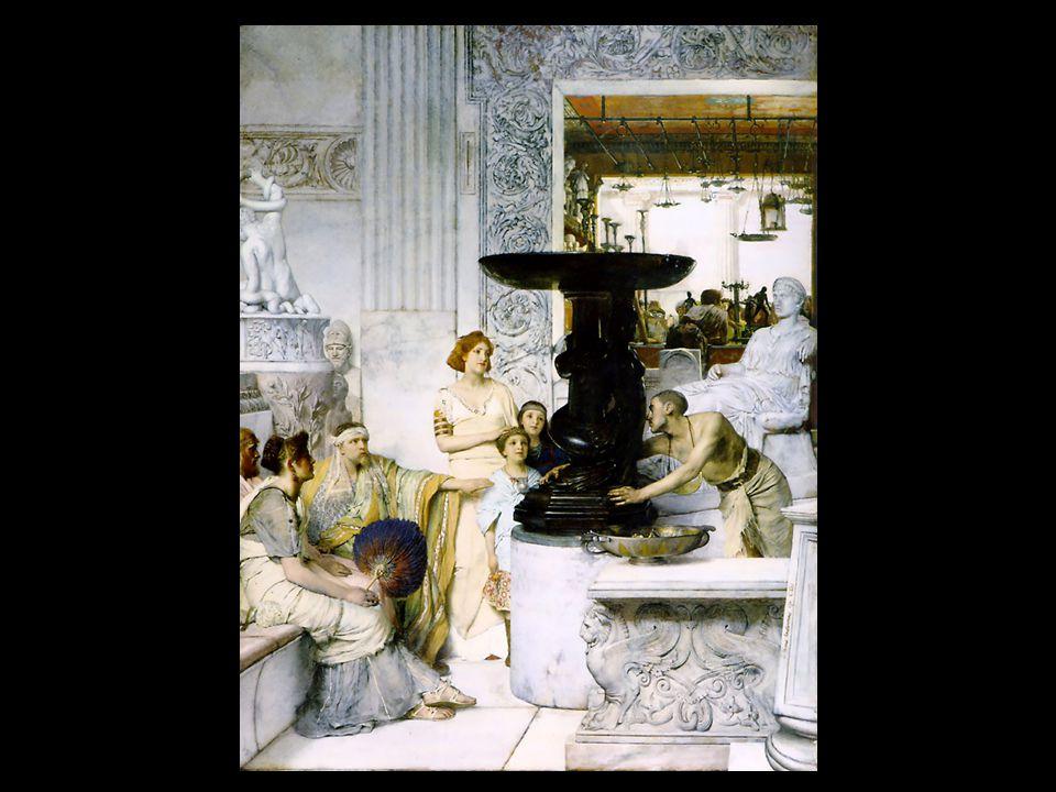 A Tepidáriumban 1881, olaj, magángyűjtőnél